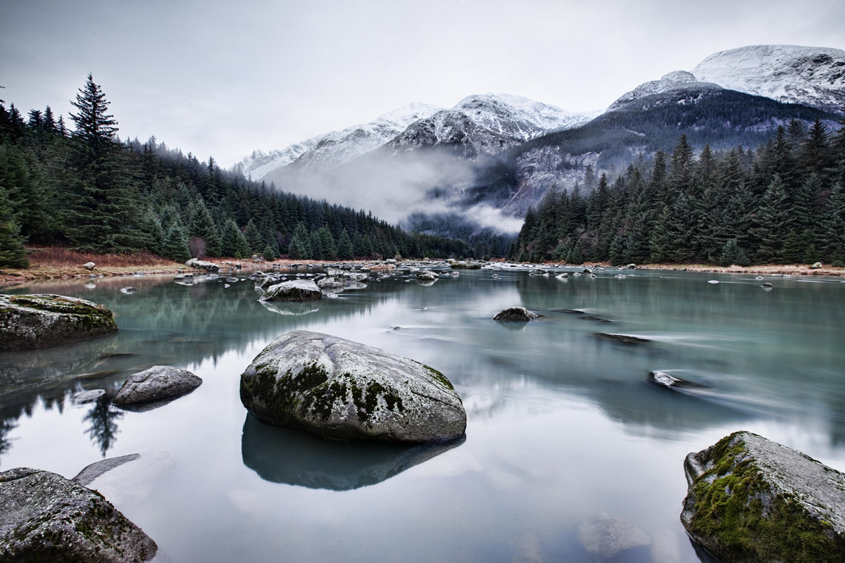Alaska landscapes cobble artcobble art for Landscape pictures